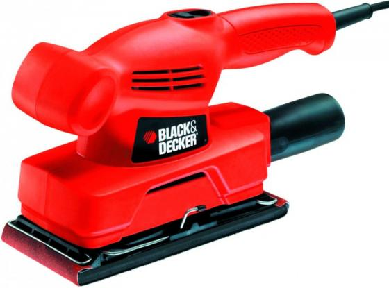 Виброшлифмашина Black & Decker KA300-XK 135Вт фрезер black and decker kw900e xk
