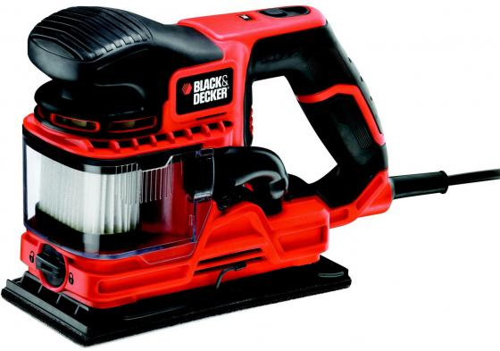 Виброшлифмашина Black & Decker KA330E-QS 270Вт