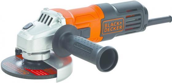 Угловая шлифмашина Black & Decker G650-RU 650Вт 115мм эксцентриковая шлифмашина black decker ka198