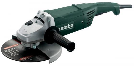WX2200-230 УШМ 2200 вт,230мм,огр.пуск.тока болгарка metabo wx 2000