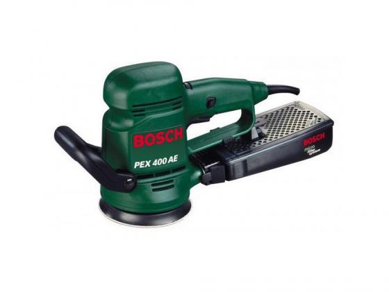 Эксцентриковая шлифмашина Bosch PEX 400 AE 350Вт 125мм 06033A4020