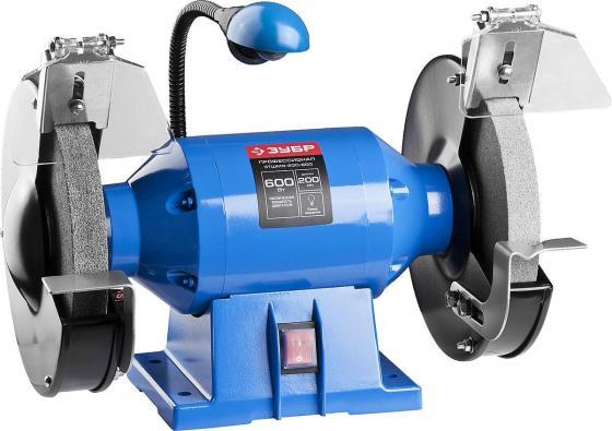 Станок точильный Зубр Профессионал ЗТШМЭ-200-600 200 мм станок точильный sturm bg6010s 49 мм