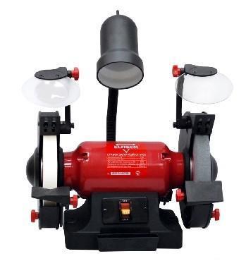 Точило ELITECH СТ300C 300Вт 2850об/мин круг 150x20x32мм с охлажд., подсветка точило elitech ст 200