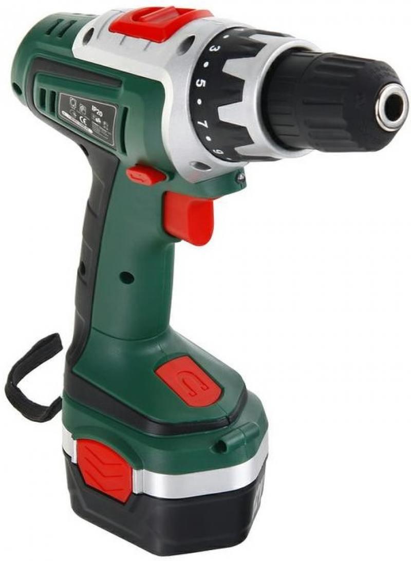 Аккумуляторная дрель-шуруповерт hammer acd122