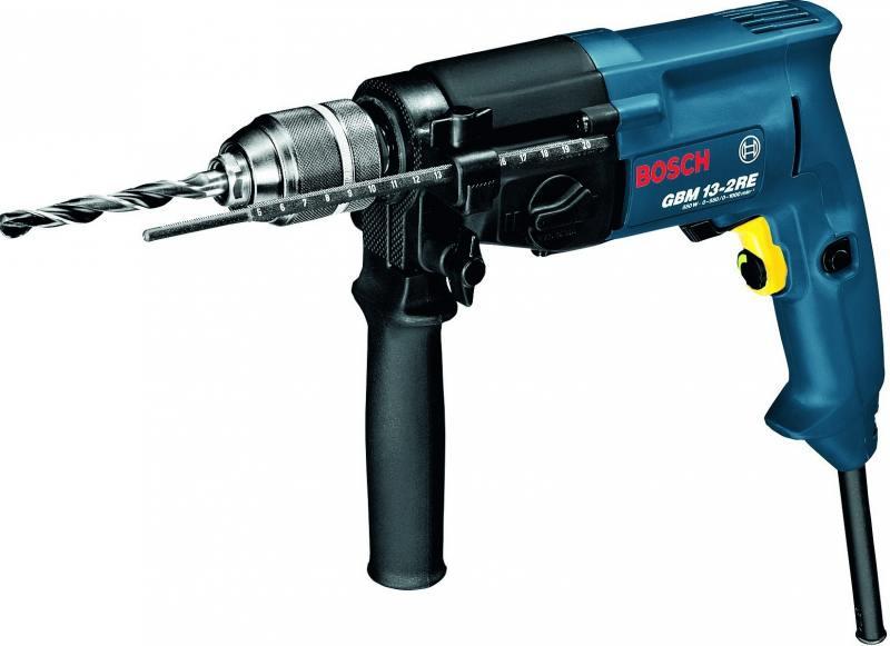 Дрель-шуруповерт Bosch GBM 13-2 RE 750Вт 06011B2000 bosch gbm 10 2 re
