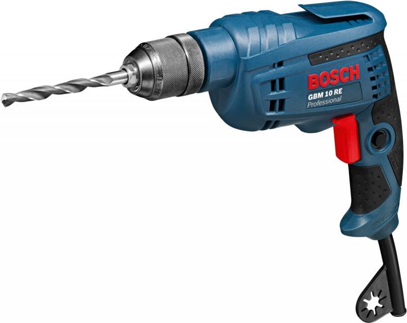 Дрель-шуруповерт Bosch GBM 10 RE 600Вт 0601473600 bosch gbm 10 2 re