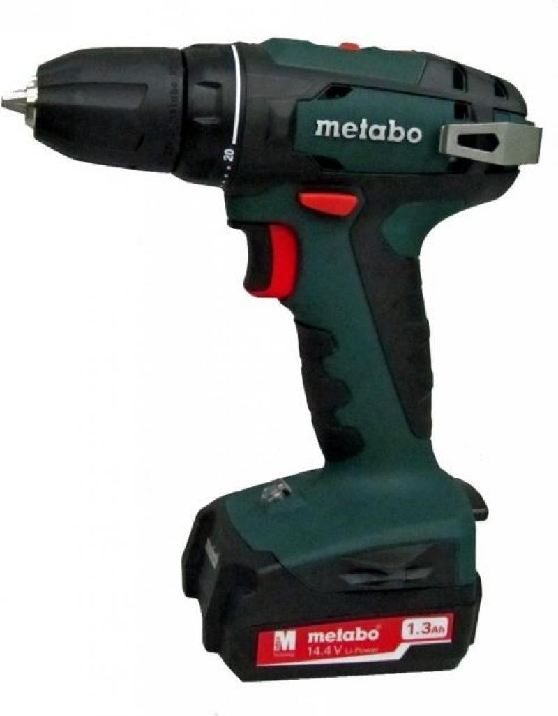 Аккумуляторный шуруповерт Metabo BS 14.4 10мм 1.3Ah x2 Case (602206500) стоимость