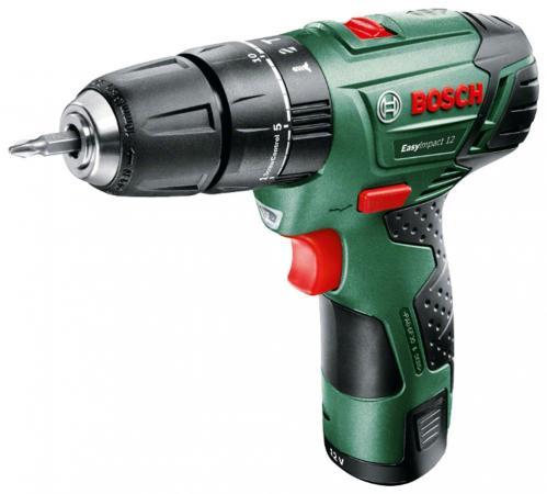 Аккумуляторная дрель-шуруповерт Bosch EasyImpact 12 060398390D цена