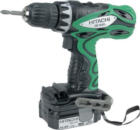 Аккумуляторный шуруповерт Hitachi DS14DFL цена