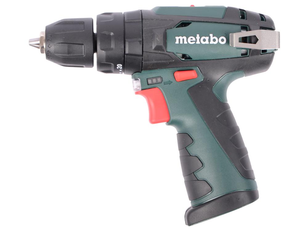 Аккумуляторная дрель-шуруповерт Metabo PowerMaxxSB 600385890 metabo powermaxx kpa 1 5ач