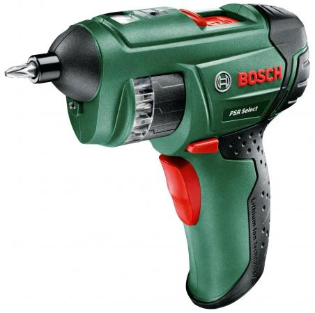 Аккумуляторная отвертка Bosch PSR Select 3.6V аккумуляторная отвертка bosch psr select 0603977020