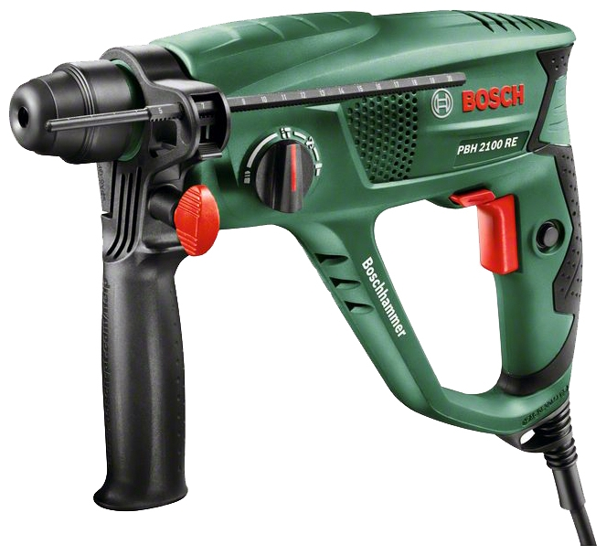 Перфоратор Bosch PBH 2100 RE (06033A9320) перфоратор bosch pbh 3000 fre 0603393220