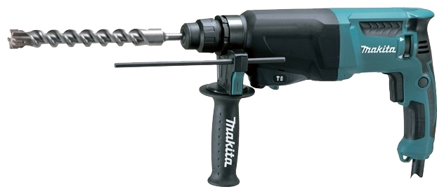 Перфоратор Makita HR2600 SDS Plus 800Вт перфоратор sds plus makita hr2631ft