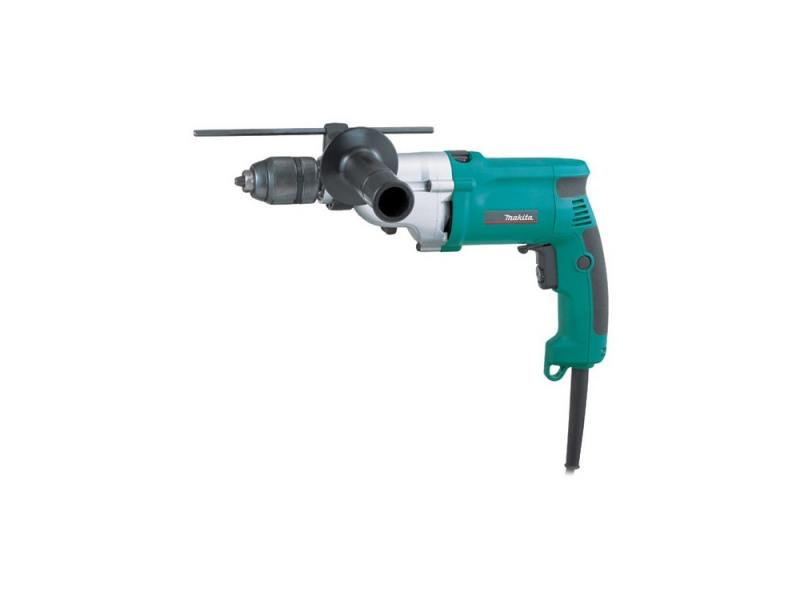 Дрель ударная Makita HP2051F 780Вт БЗП перфоратор makita hr2470ft sds plus 780вт бзп