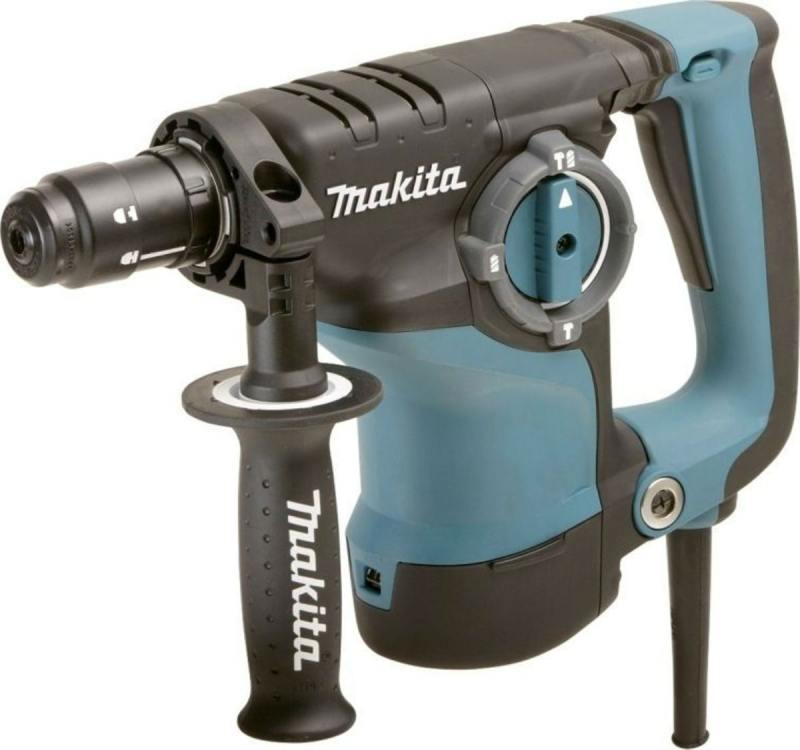 Перфоратор Makita HR2811FT SDS Plus 800Вт + кейс перфоратор makita sds plus hr2300