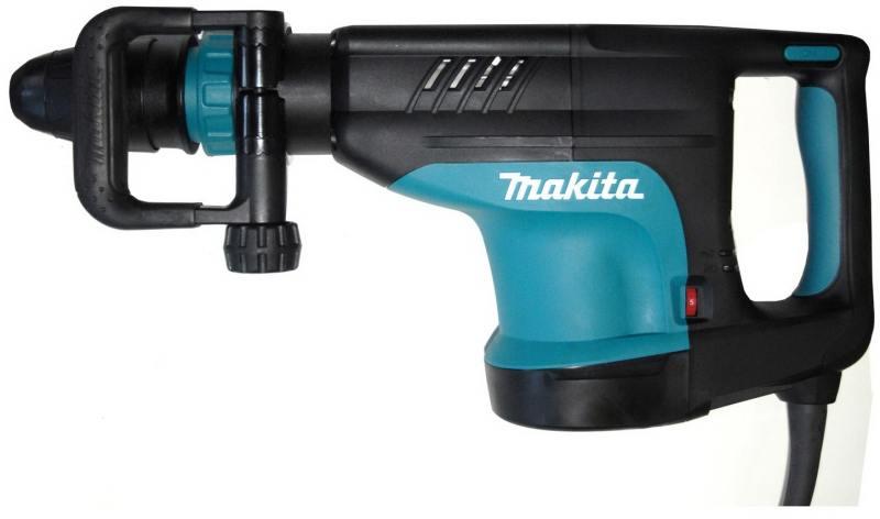Отбойный молоток Makita HM1203C Молоток отб,SDS-max,1510Вт,25.5Дж,950-1900у\м,9.2кг,чем,м\функц бок рукоятка,плавный пуск