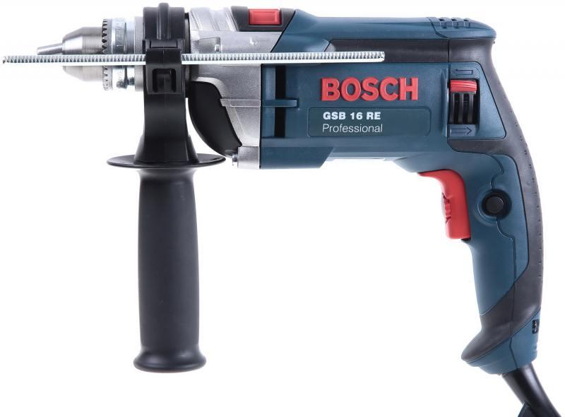 Дрель Bosch GSB 16 RE 2009 Case (ЗВП) (060114E600)