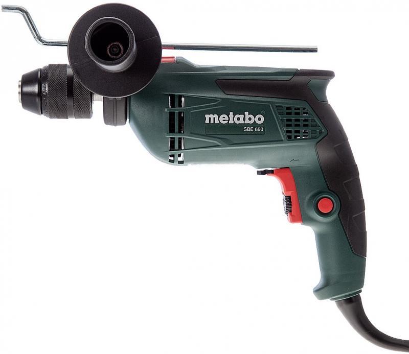 Дрель Metabo SBE 650 (ЗВП) (600671000) дрель ударная metabo sbe650 600672500