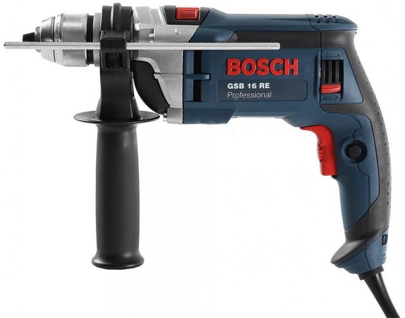 Дрель ударная Bosch GSB 16 RE БЗП ударная дрель bosch gsb 13 re бзп