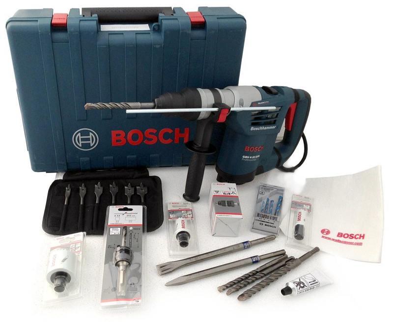 Перфоратор SDS Plus Bosch GBH 4-32 DFR перфоратор с патроном sds plus pbh 3000 2 fre 750 вт 2 8 дж bosch бош