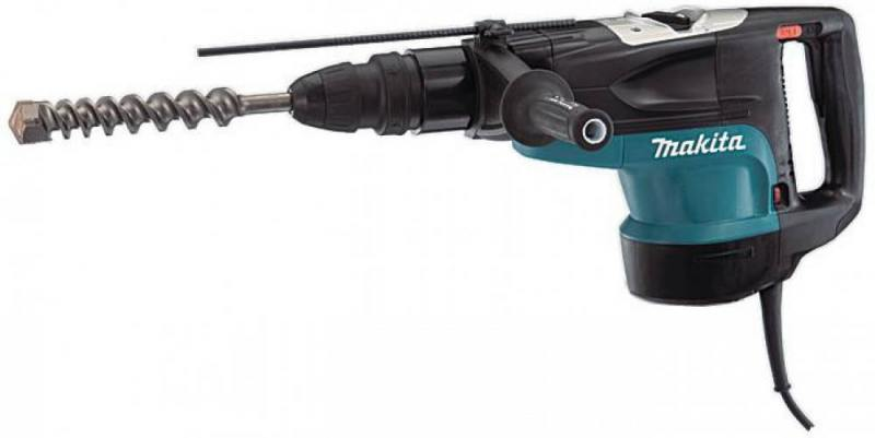 Перфоратор Makita HR5210C SDS-max 1500Вт перфоратор sds max makita hr3540c