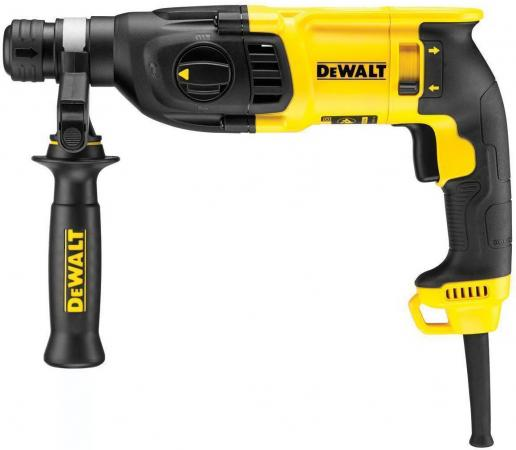 Перфоратор DeWalt D 25133 K-KS SDS-Plus 800Вт перфоратор dewalt d 25143k sds plus 900вт