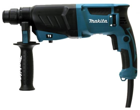Перфоратор Makita HR2630 SDS-Plus 800Вт перфоратор sds plus makita hr2631ft