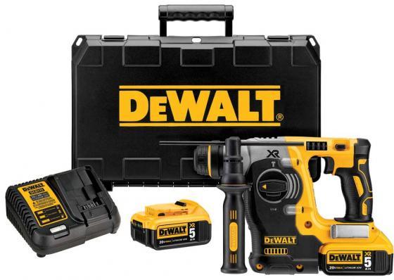 Перфоратор DEWALT DCH 273 P2 акк б/щ SDS+ 18В 2х5Ач LiIon 3реж. 2.1Дж 0-4600уд/мин 3.1кг