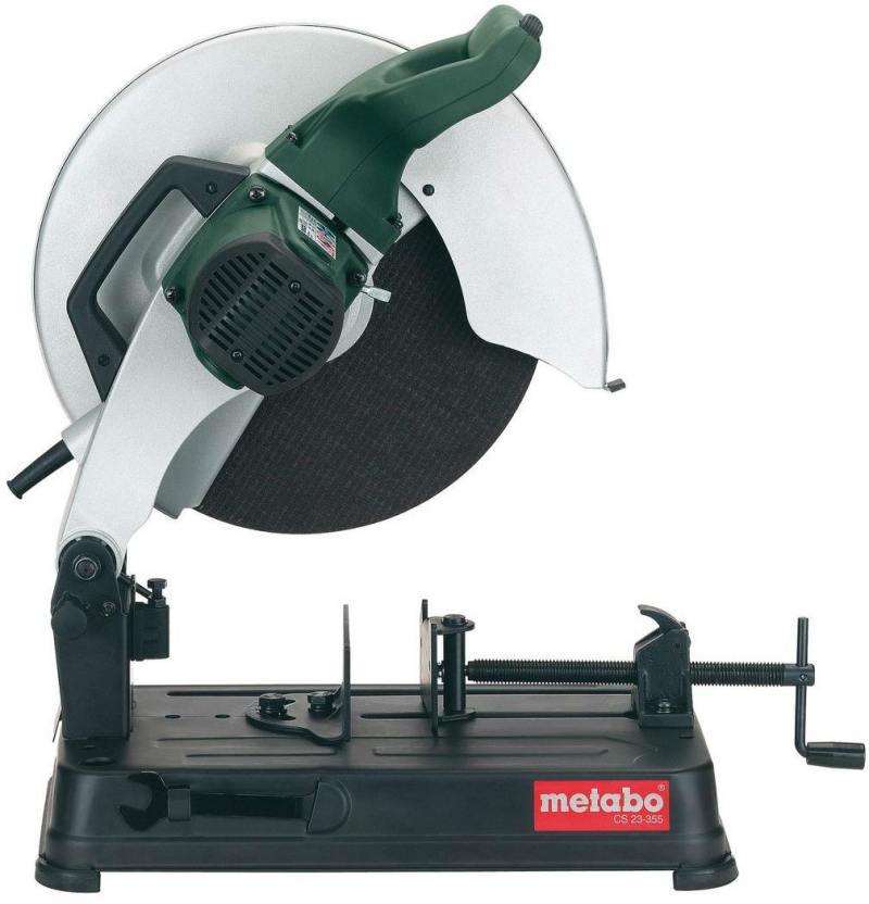 Дисковая пила Metabo CS 23-355 2300Вт 355мм 602335850 дисковая пила кратон cs 1800 200 м