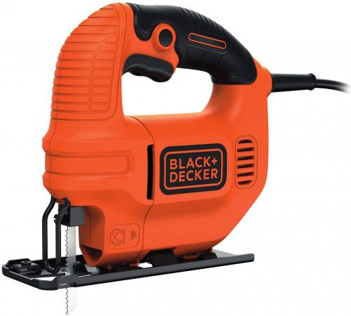 Лобзик Black & Decker KS501-XK 400Вт фрезер black and decker kw900e xk