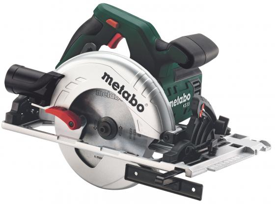 Дисковая пила Metabo KS 55 FS 1200Вт 160мм 600955000