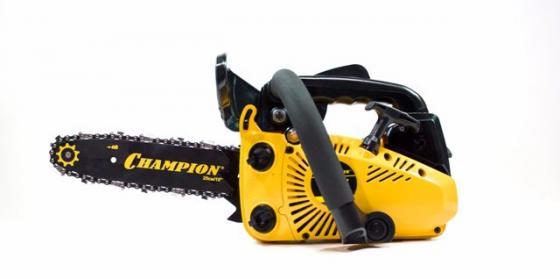 Бензопила CHAMPION 125T 10-3/8-1.3-40Е 0.7 кВт 3.2кг электропила champion 424n 18 3 8 1 3мм 62 звена