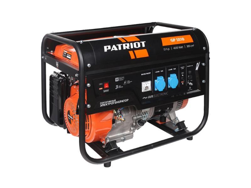 цена на Генератор Patriot GP 5510 13 л.с бензиновый