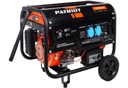 Генератор Patriot GP 3810LE 7 л.с бензиновый бензиновый генератор patriot gp 2510
