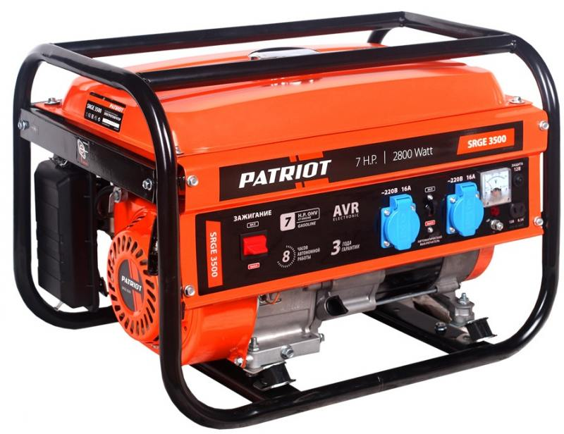 Генератор Patriot Max Power SRGE 3500