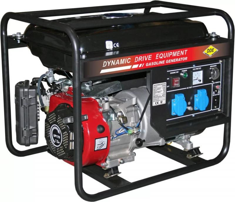 Генератор DDE GG3300 бензиновый бензиновый генератор dde dpg6501e