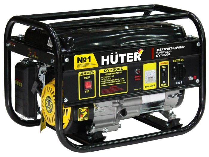 Генератор Huter DY3000L бензиновый 6.5 л.с автомойка huter m165 рw