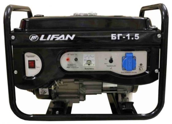 Генератор LIFAN 1.5GF-3 бензиновый 220в 1.5/1.7кВт 5.5лс генератор lifan 1 5gf 3