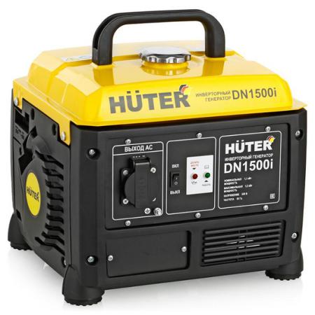 Инверторный бензиновый генератор HUTER DN1500i 220В 2.2лс