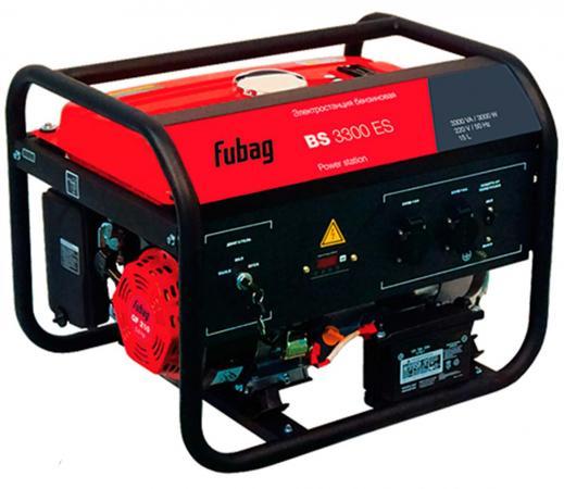 Генератор Fubag BS 3300 ES бензиновый генератор бензиновый инверторный fubag ti 700