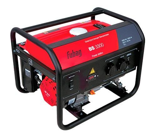 Генератор бензиновый FUBAG BS 3300 генератор бензиновый инверторный fubag ti 700
