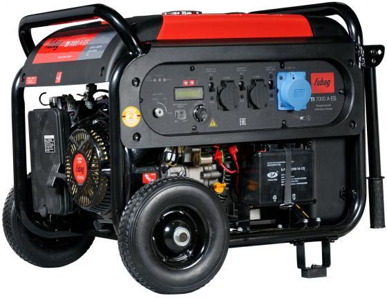 Электростанция инверторная с электростартером и коннектором автоматики TI 7000 A ES бензиновая электростанция с электростартером и коннектором автоматики fubag bs 8500 a es 838253