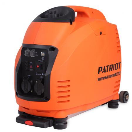 Генератор инверторный PATRIOT 3000il генератор инверторный patriot 3000i