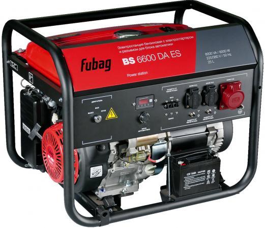 Генератор Fubag BS 6600 DA ES бензиновый бензиновый генератор fubag ti 2000