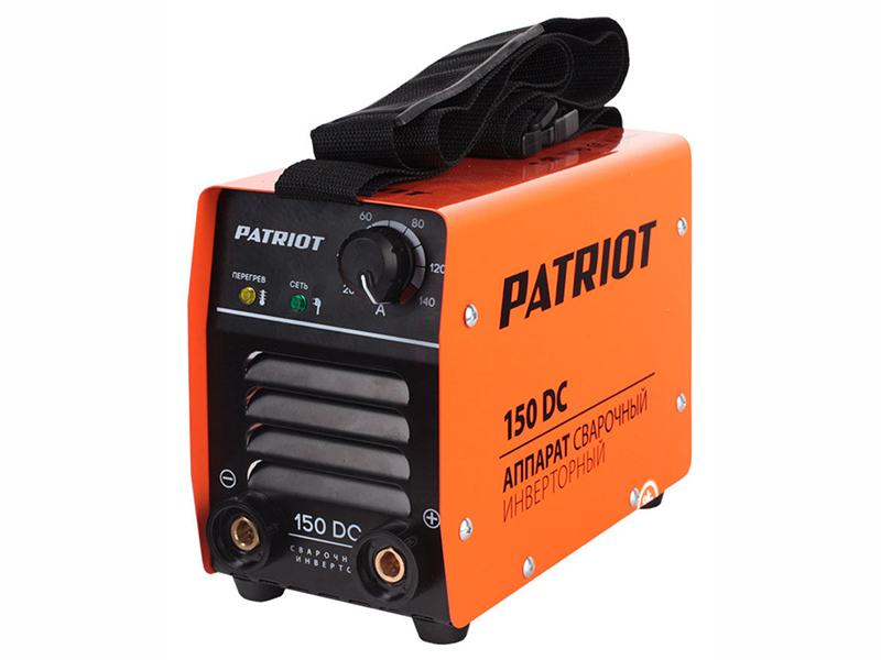 где купить Аппарат сварочный Patriot 150DC MMA 10/140А инверторный дешево