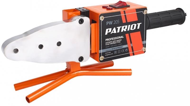 Аппарат сварочный Patriot PW 205 для сварки пластиковых труб