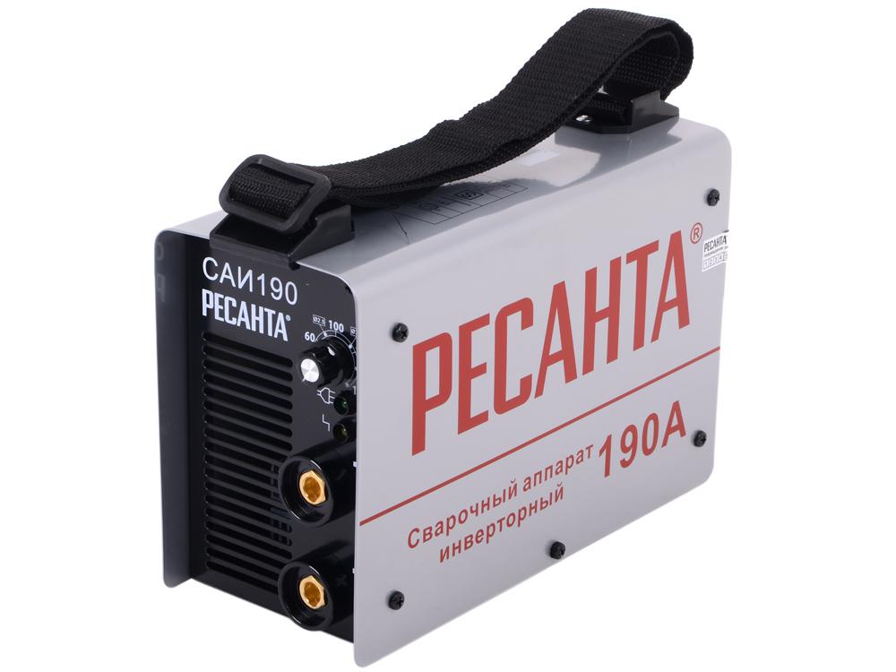 Сварочный аппарат РЕСАНТА САИ-190 Инверторный инверторный плазменный резак ресанта ипр 40к