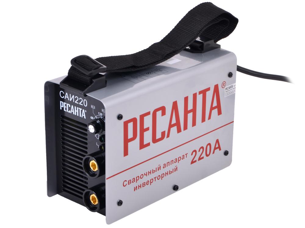Сварочный аппарат РЕСАНТА САИ-220 инверторный сварочный аппарат инвертор ресанта саи 220 [саи 220]
