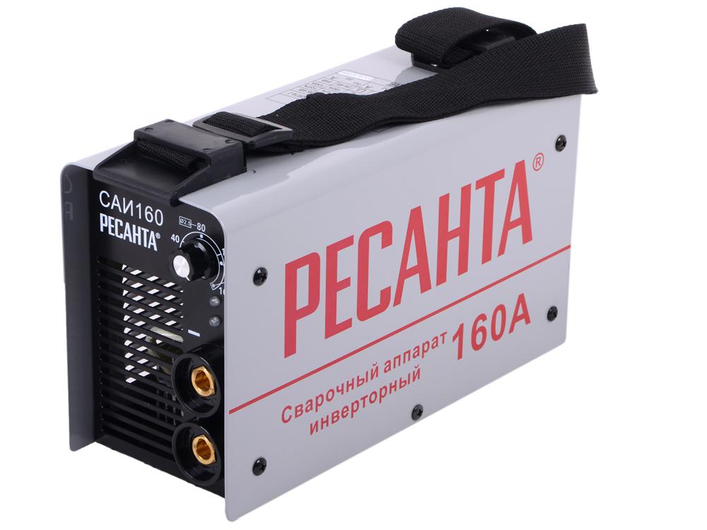 Сварочный аппарат РЕСАНТА САИ-160 инверторный инверторный плазменный резак ресанта ипр 40к