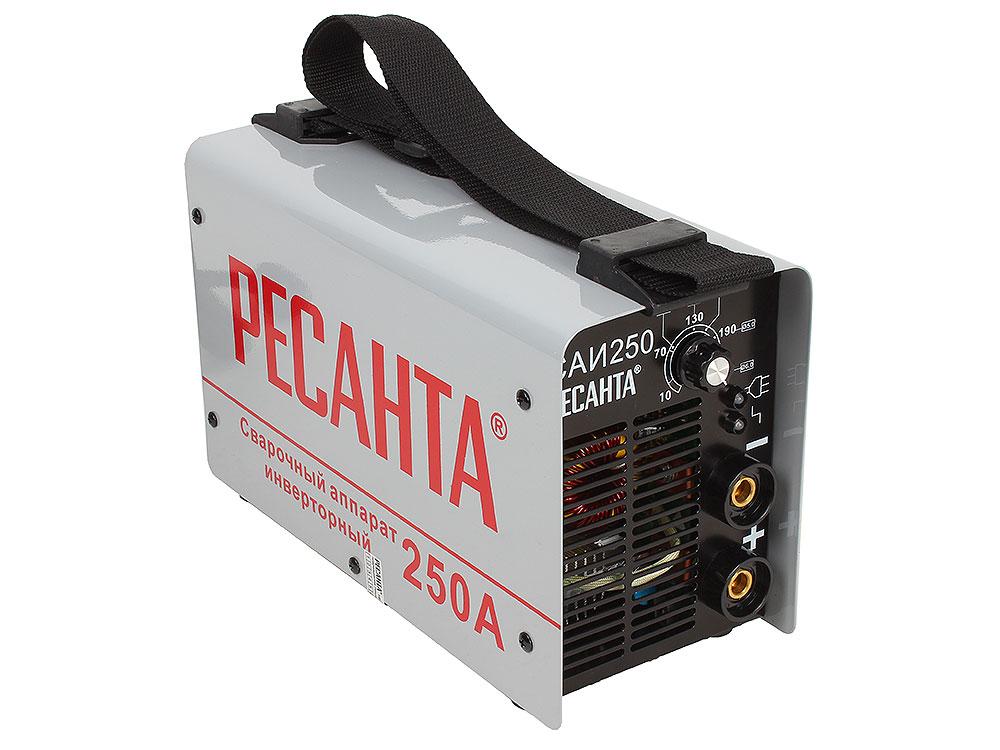 Сварочный аппарат РЕСАНТА САИ-250 инверторный аппарат сварочный ресанта саи 250 65 21